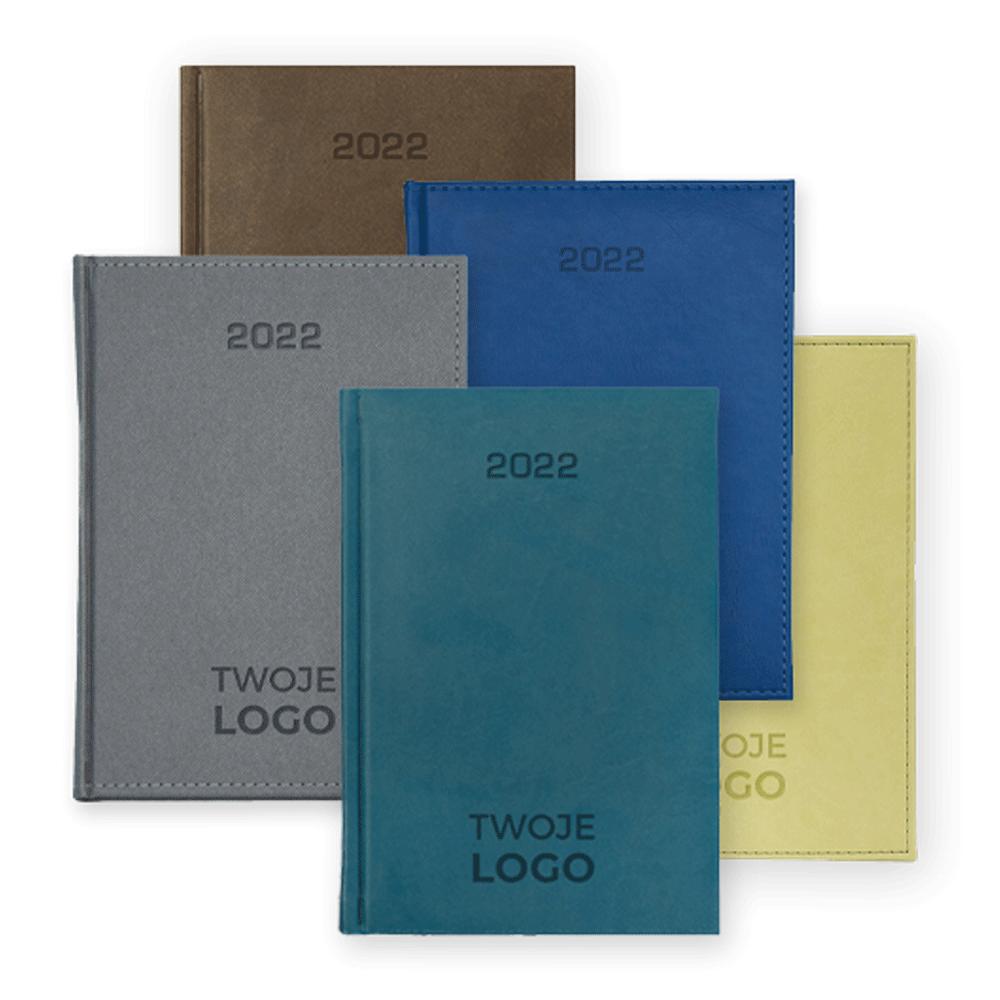 kalendarze książkowe z logo