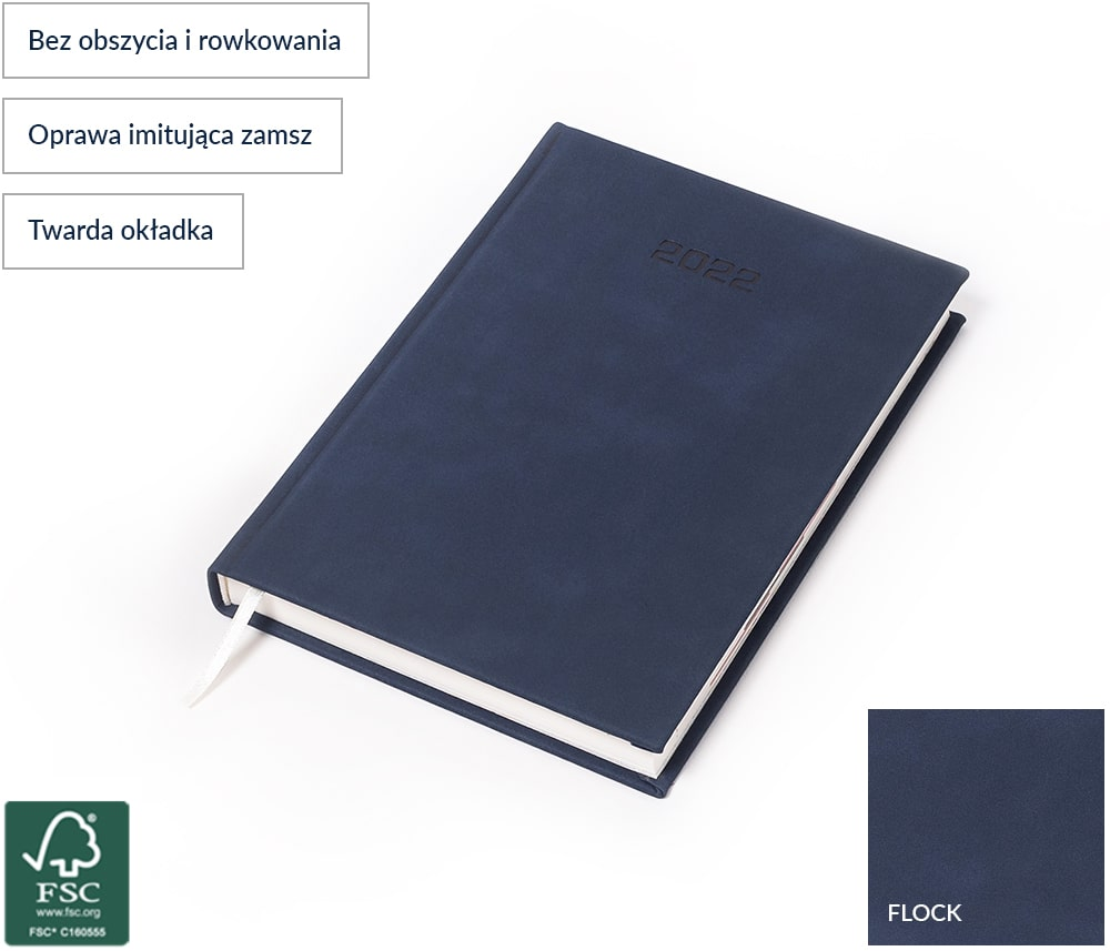 Kalendarz książkowy Flock