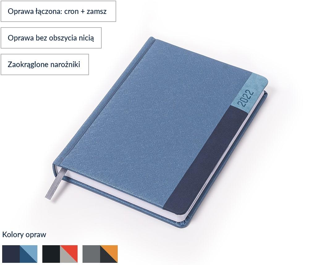 Kalendarz książkowy Luma