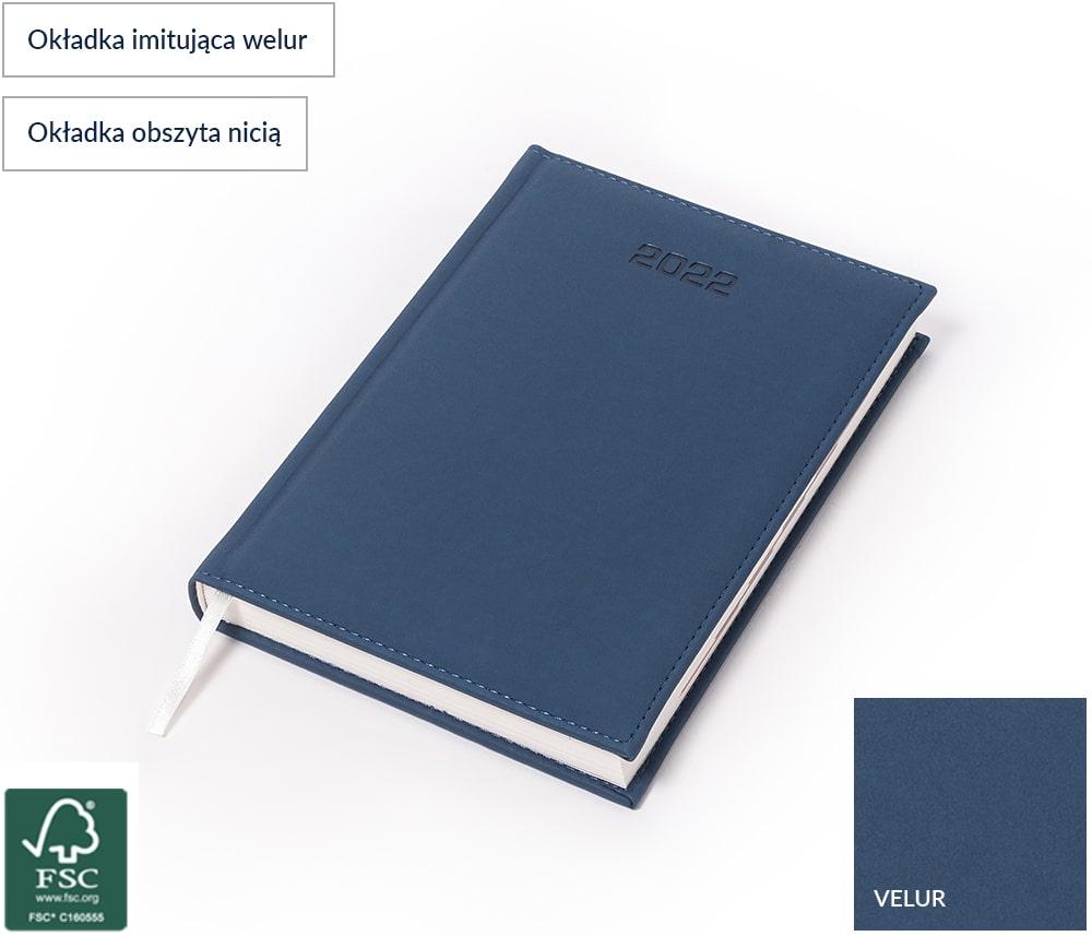 Kalendarz książkowy Velur